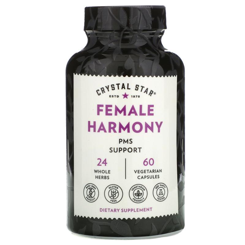 Crystal Star, Female Harmony, 60 Veggie Caps