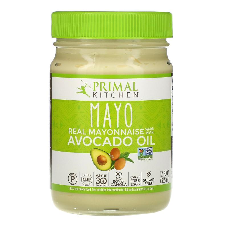 Primal Kitchen, Mayonnaise with Avocado Oil, 12 fl oz (355 ml)
