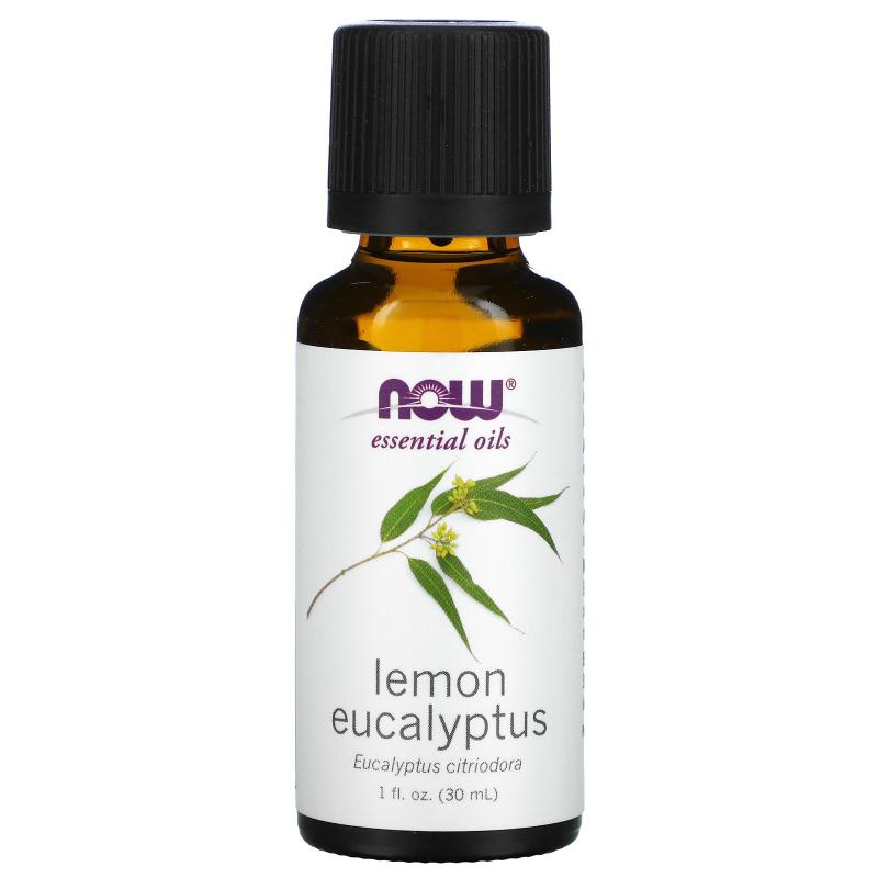 Now Foods, Essential Oils, Lemon Eucalyptus, 1 fl oz (30 ml)