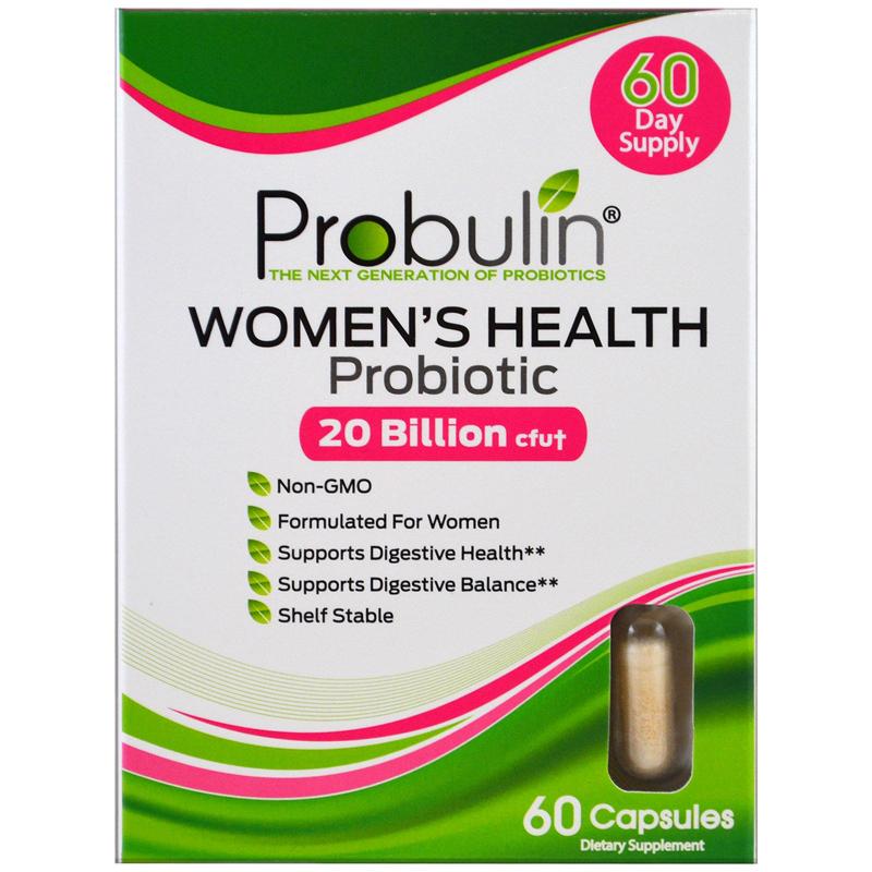 Probulin, Women's Health, Probiotic , 60 Capsules
