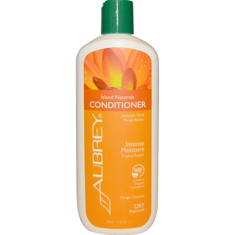 Aubrey Organics, Island Naturals Conditioner, Tropical Repair, Dry Replenish, 11 fl oz (325 ml)