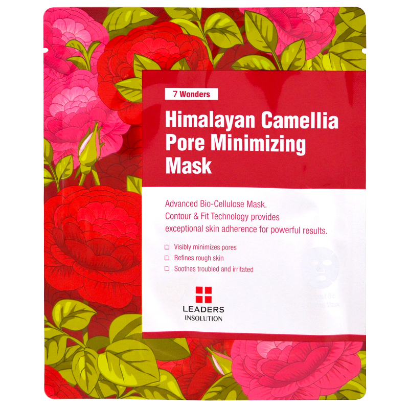 Leaders, Himalayan Camellia Pore Minimizing Mask, 1 Mask