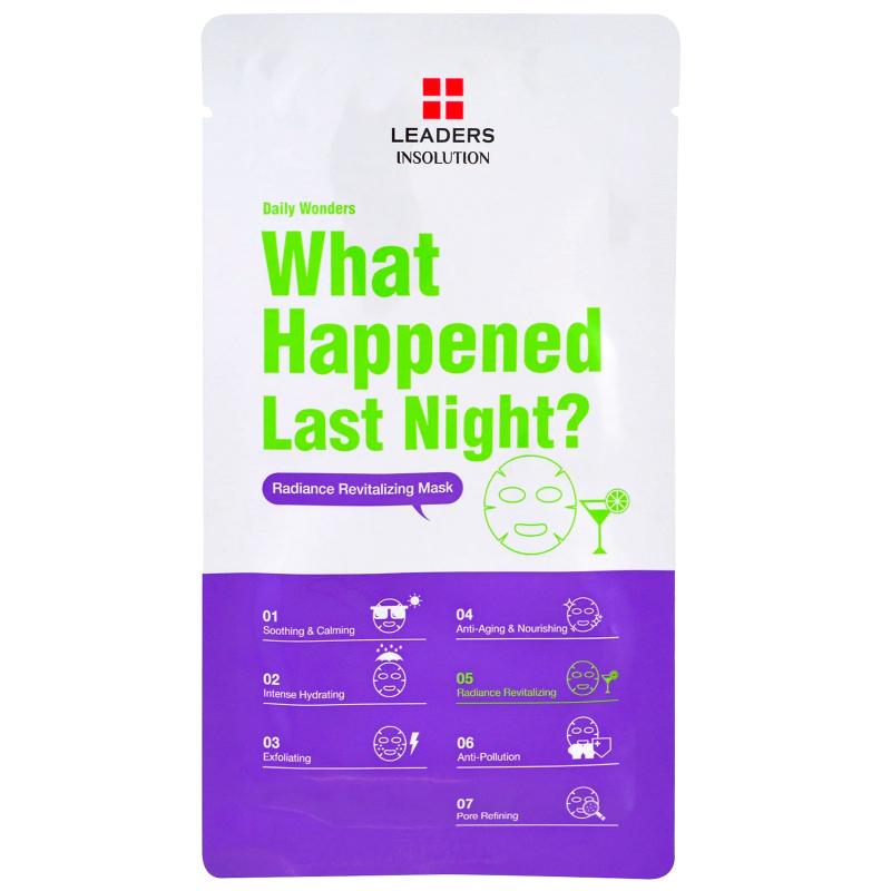 Leaders, Daily Wonders, What Happened Last Night, 1 Mask