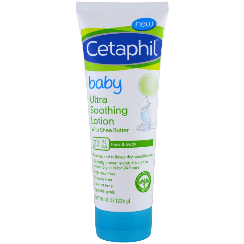 Cetaphil, Baby, Ultra Soothing Lotion With Shea Butter, 8 oz (226 g)
