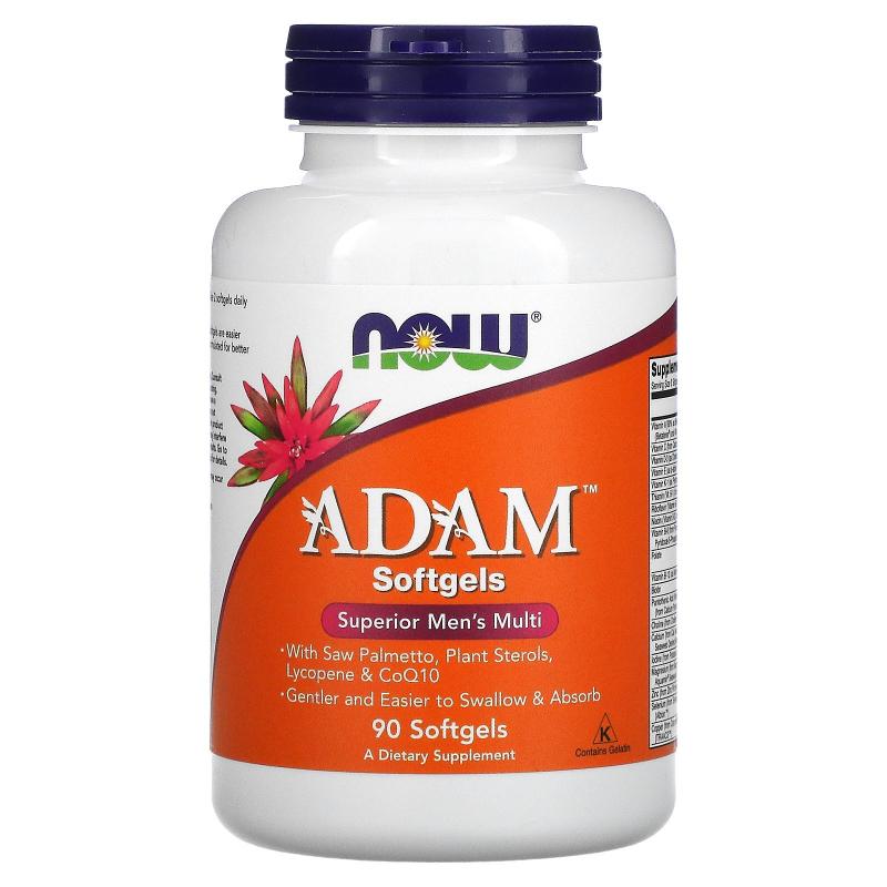 Now Foods, ADAM, Superior Men's Multi, 90 Softgels