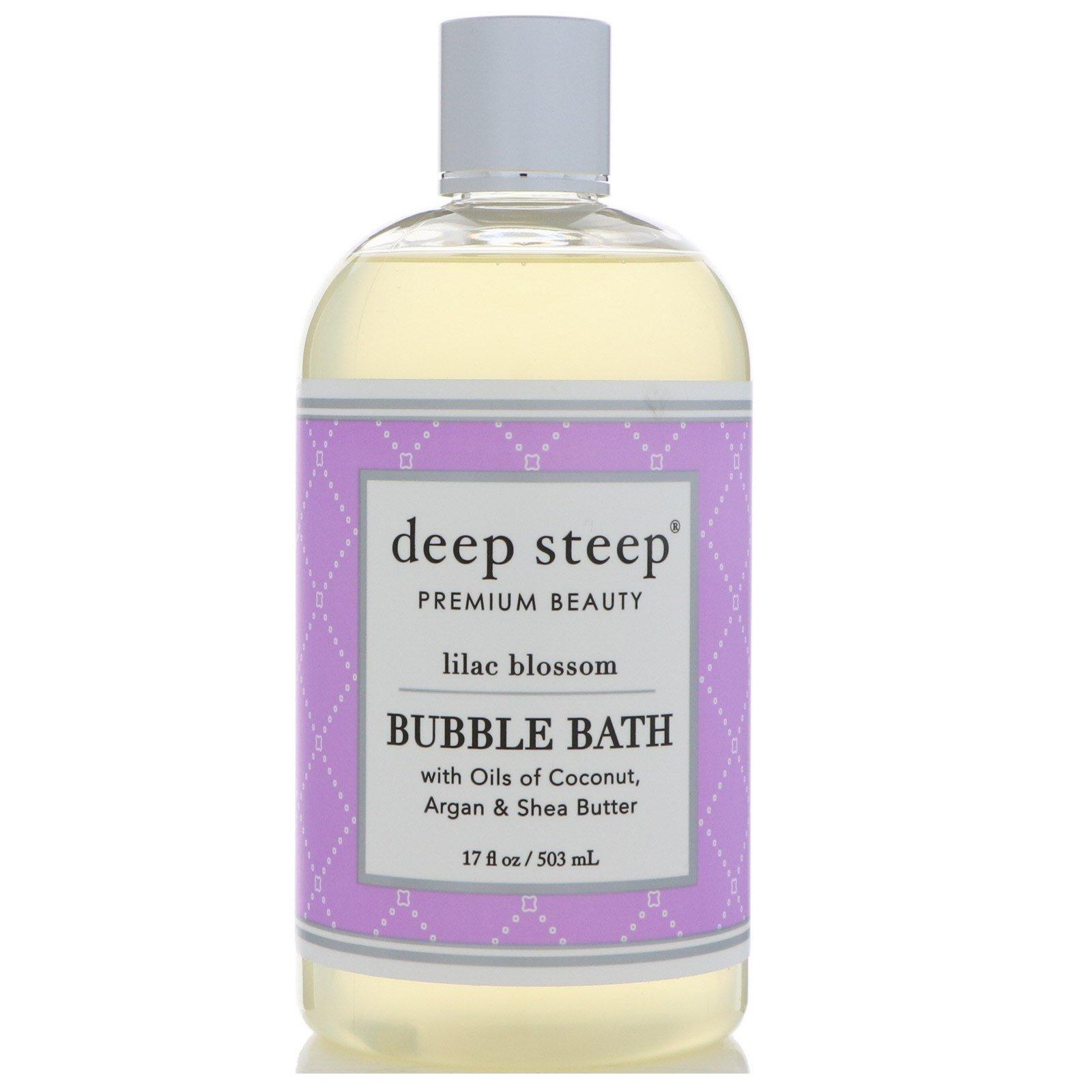 Deep Steep, Bubble Bath, Lilac Blossom, 17 fl oz (503 ml)