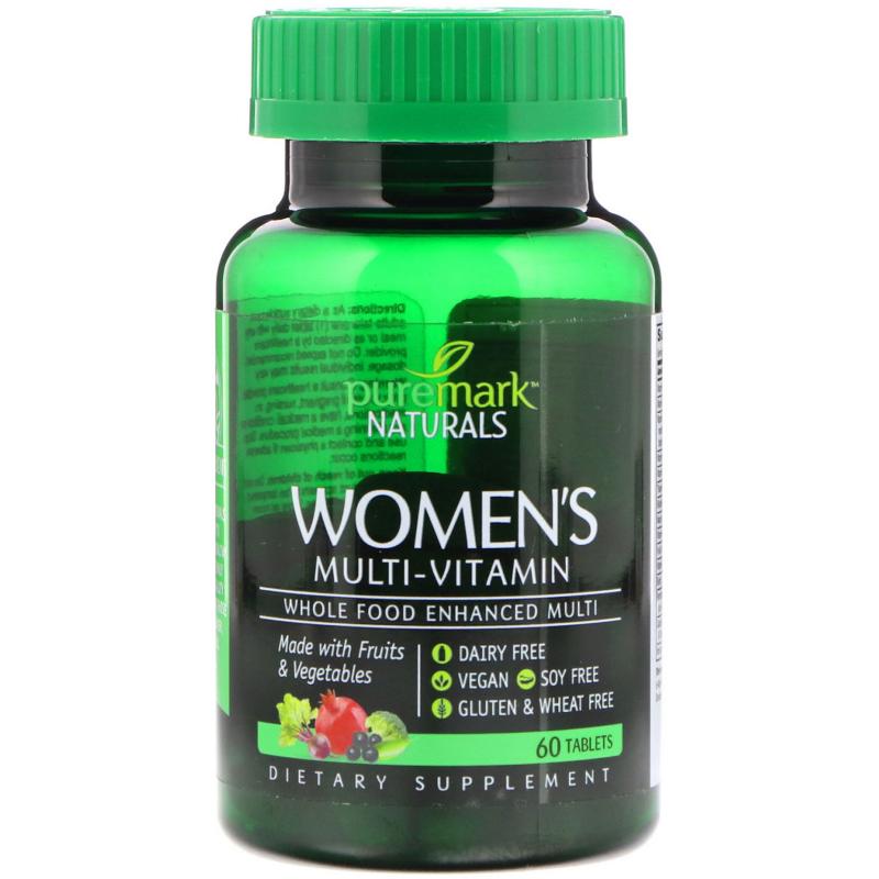 PureMark Naturals, Women's Multi-Vitamin, 60 Tablets