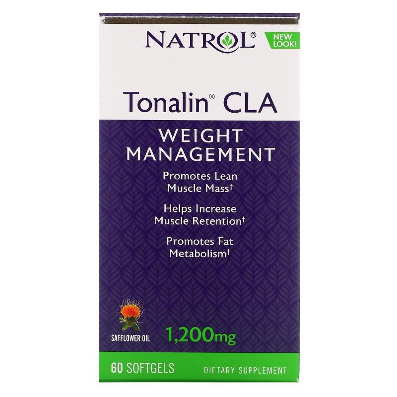 Natrol, Tonalin CLA, 1,200 mg, 60 Softgels