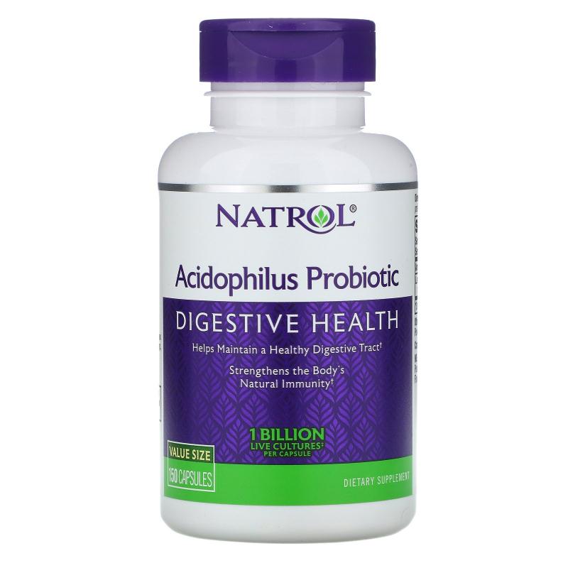 Natrol, Acidophilus Probiotic, 1 Billion, 150 Capsules