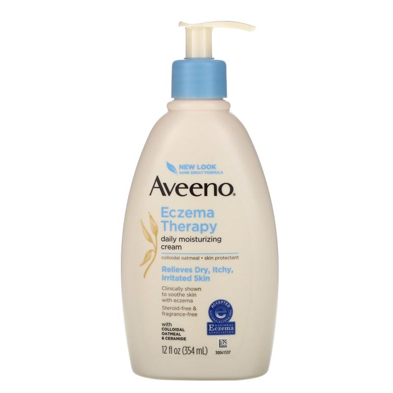 Aveeno, Eczema Therapy, Moisturizing Cream, 12 fl oz (354 ml)
