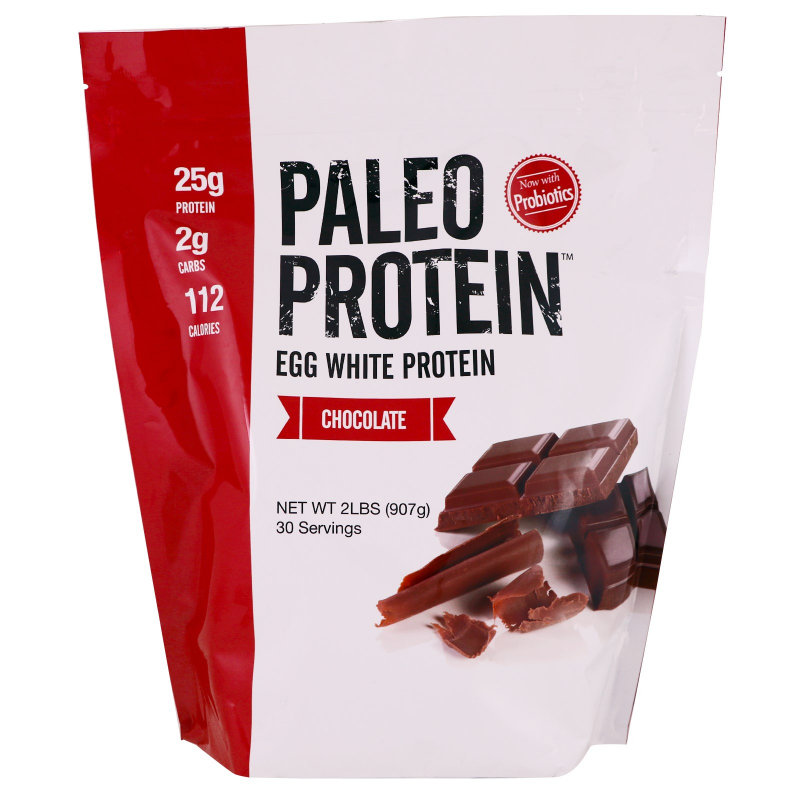 Julian Bakery, Paleo Protein, Egg White Protein, Chocolate, 2 lbs (907 g)