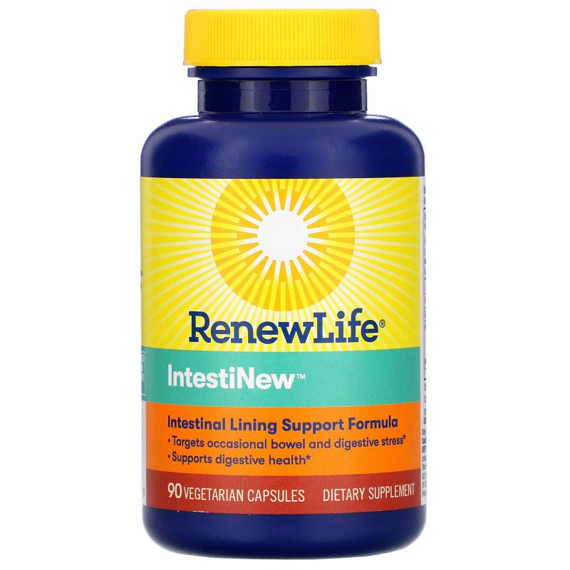 Renew Life, IntestiNew, 90 Vegetable Capsules