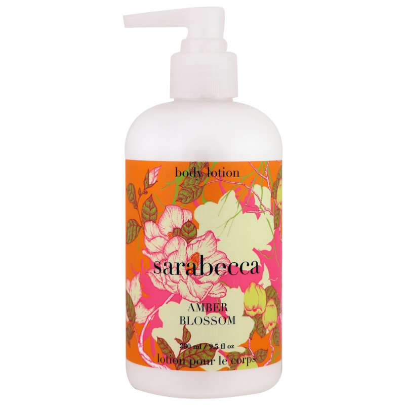 Sarabecca, Body Lotion, Amber Blossom, 9.5 fl oz (280 ml)