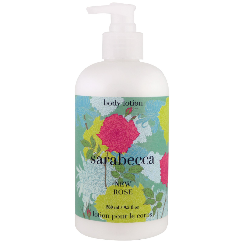 Sarabecca, Body Lotion, New Rose, 9.5 fl oz (280 ml)