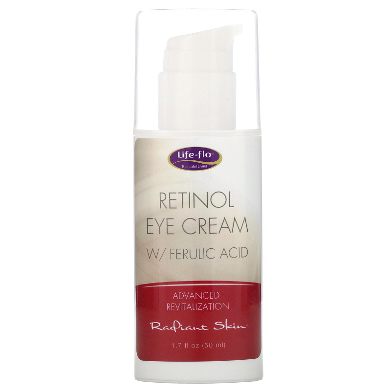 Life-flo, Retinol Eye Cream with Ferulic Acid, 1.7 fl oz (50 ml)
