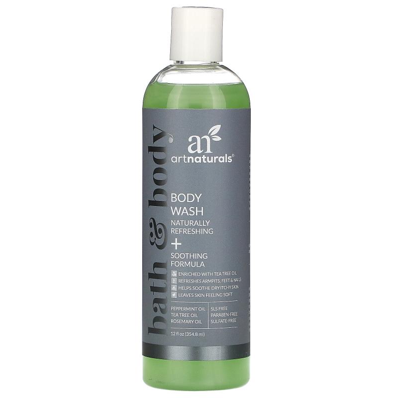 Artnaturals, Body Wash, Pure and Natural, 12 fl oz (354.8 ml)