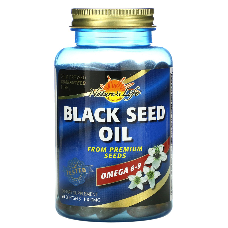 Health From The Sun, Black Seed Oil, 1,000 mg, 90 Softgels