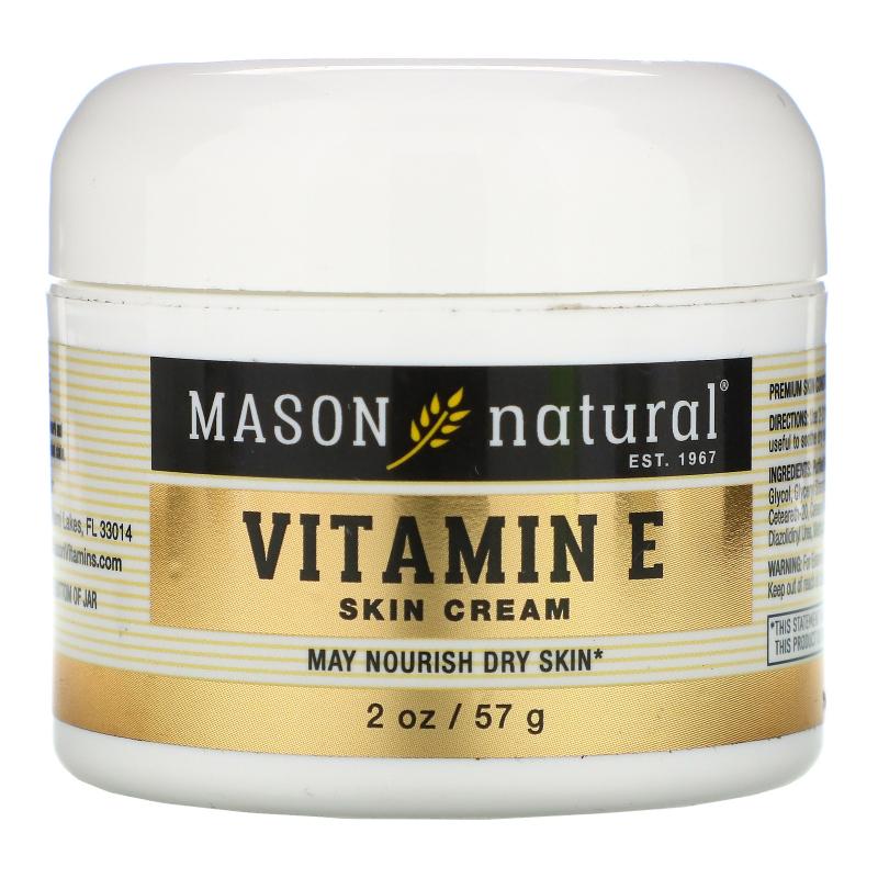 Mason Natural, Vitamin E, Skin Cream, 6000 IU, 2 oz