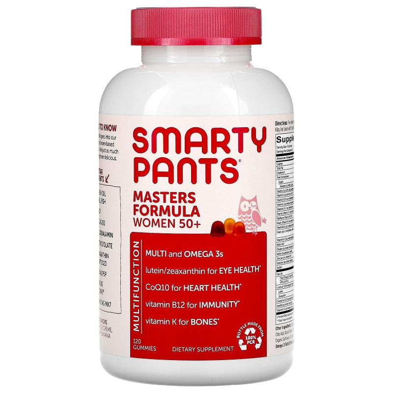 SmartyPants, Masters Complete Women 50+, 120 Gummies
