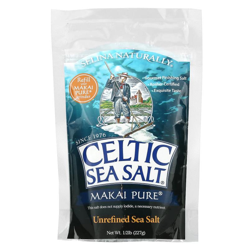 Celtic Sea Salt, Makai Pure Deep Sea Salt, Pure Vital Minerals, 1/2 lb (227 g)