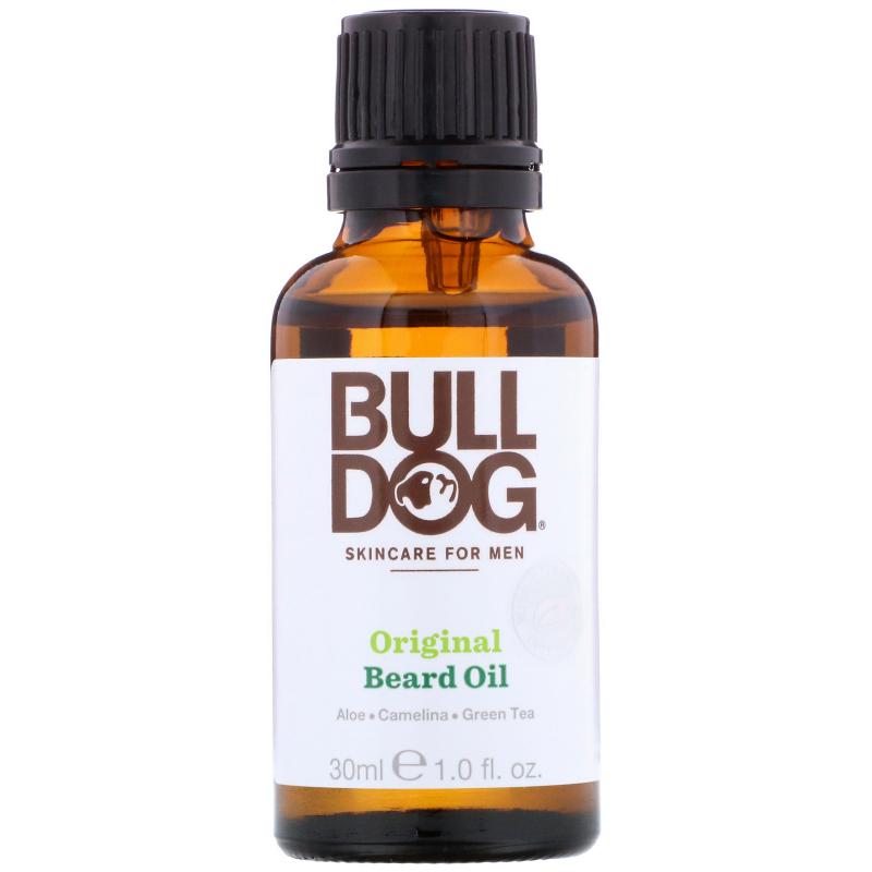 Bulldog Skincare For Men, Original Beard Oil, 1 fl oz (30 ml)