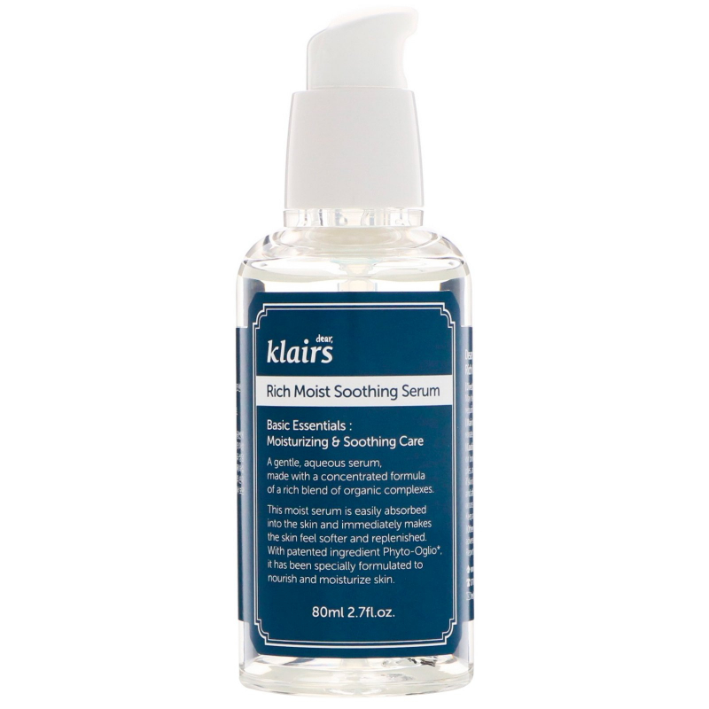 Dear, Klairs, Rich Moist Soothing Serum, 2.7 fl oz (80 ml)