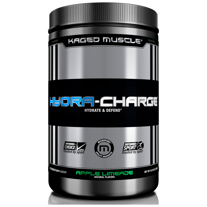 Kaged Muscle, Hydra-Charge, Apple Limeade, 10.16 oz (288 g)