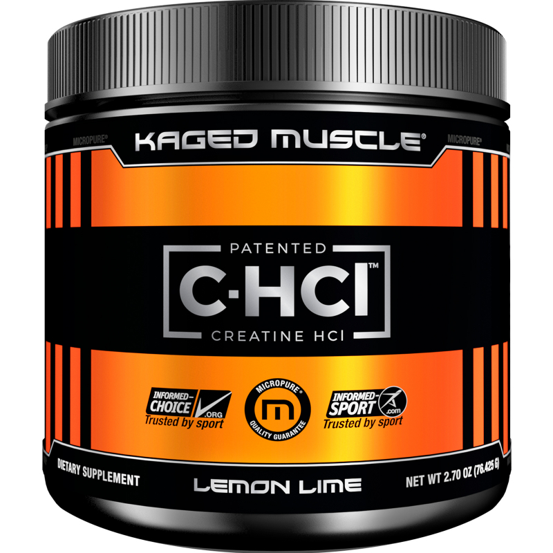 Kaged Muscle, Patented C-HCL Creatine, Lemon Lime, 2.70 oz (76.425 g)