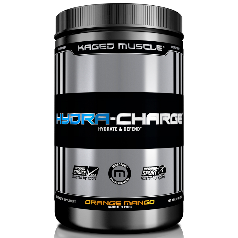 Kaged Muscle, Hydra Charge, Orange Mango, 9.73 oz (276 g)