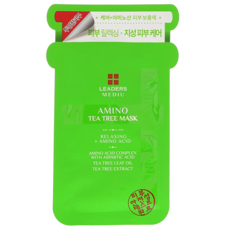 Leaders, Mediu, Amino Tea Tree Mask, 1 Mask, 25 ml