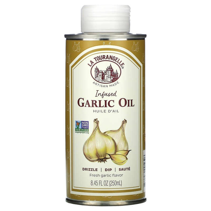 La Tourangelle, Garlic Oil, 8.45 fl oz (250 ml)
