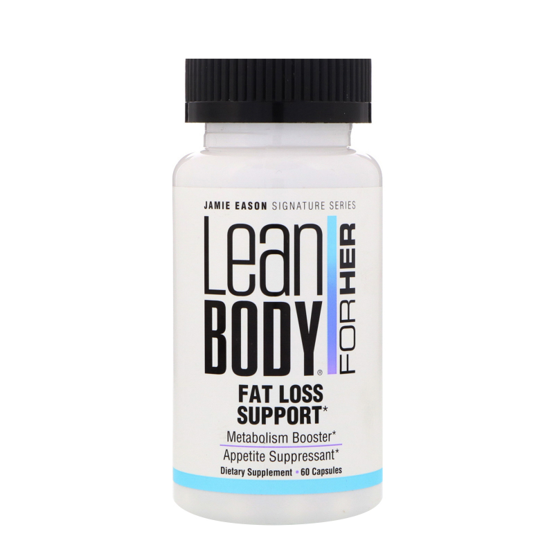 Jamie Eason, Lean Body for Her, Fat Loss Support, 60 Capsules