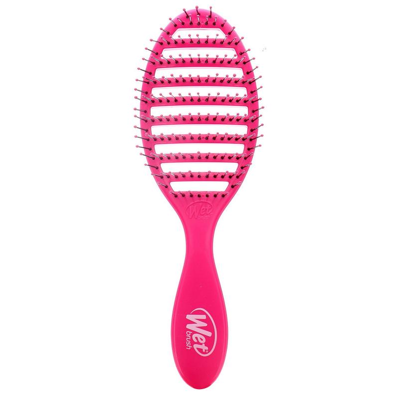 Wet Brush, Speed Dry Brush, Pink, 1 Brush
