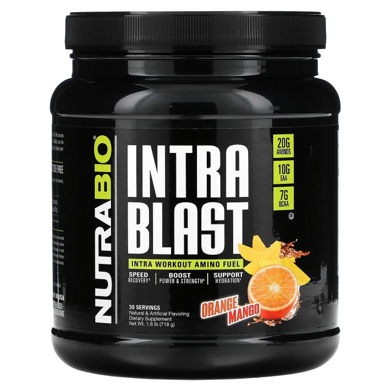 NutraBio Labs, Intra Blast, Orange Mango, 1.6 lb (724 g)
