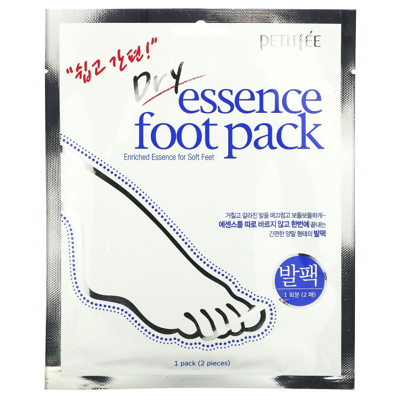 Petitfee, Dry Essence Foot Pack,  1 Pair
