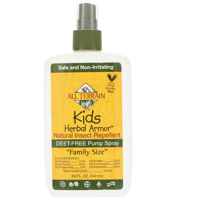All Terrain, Kids Herbal Armor, Natural Insect Repellent, 8 fl oz (240 ml)
