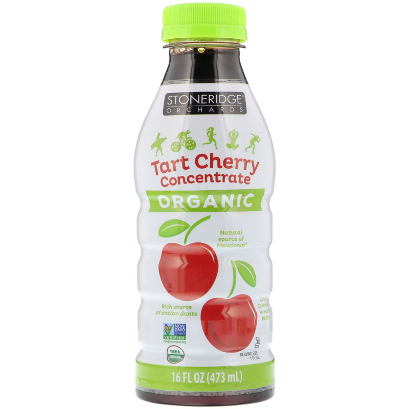 Stoneridge Orchards, Organic, Tart Cherry Concentrate, 16 fl oz (473 ml)