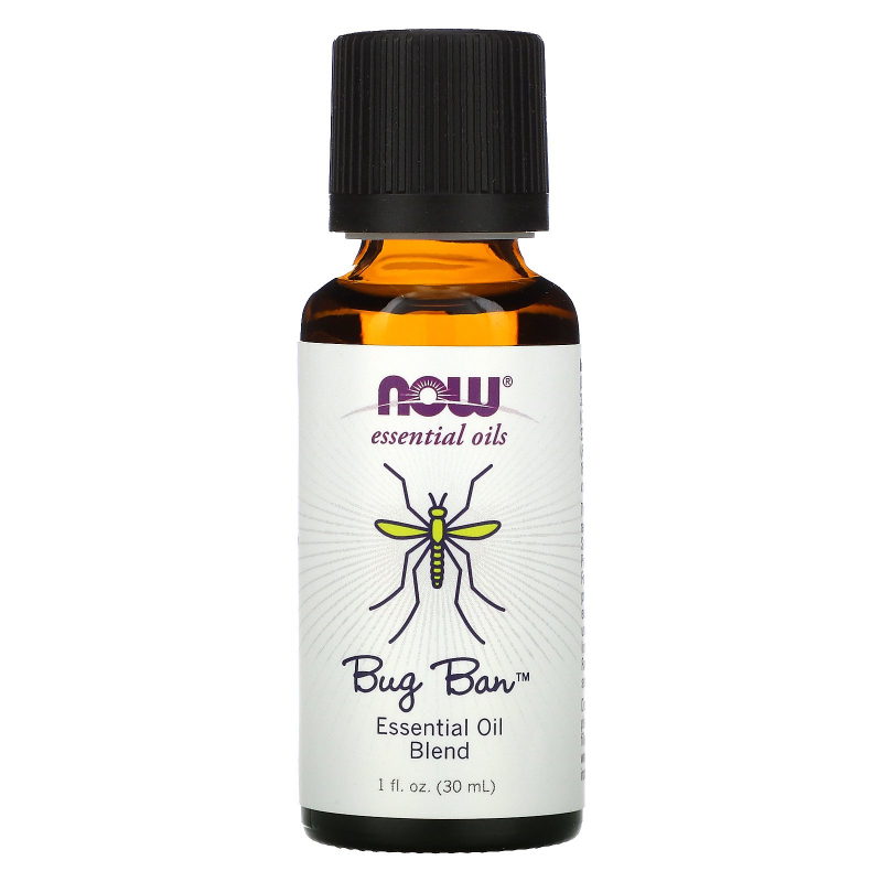 Now Foods, Essential Oils, Bug Ban, Essential Oil Blend, 1 fl oz (30 ml)