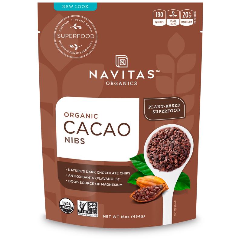 Navitas Organics, Organic, Cacao Nibs, 16 oz (454 g)