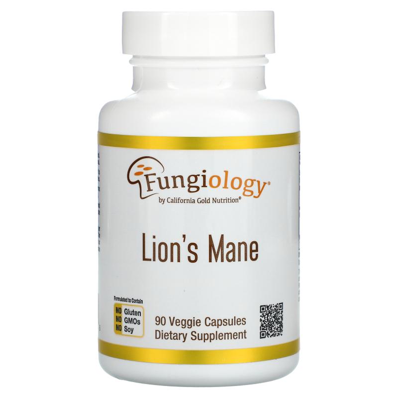 California Gold Nutrition, Lion's Mane, 90 PlantCaps