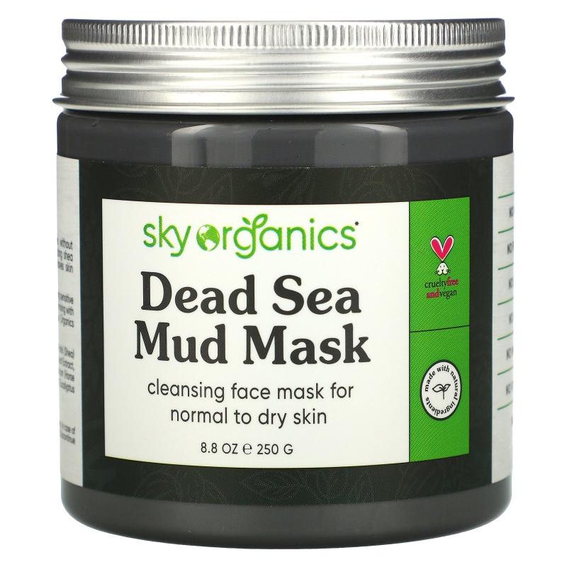 Sky Organics, Dead Sea Mud Mask, 8.8 fl oz (250 g)