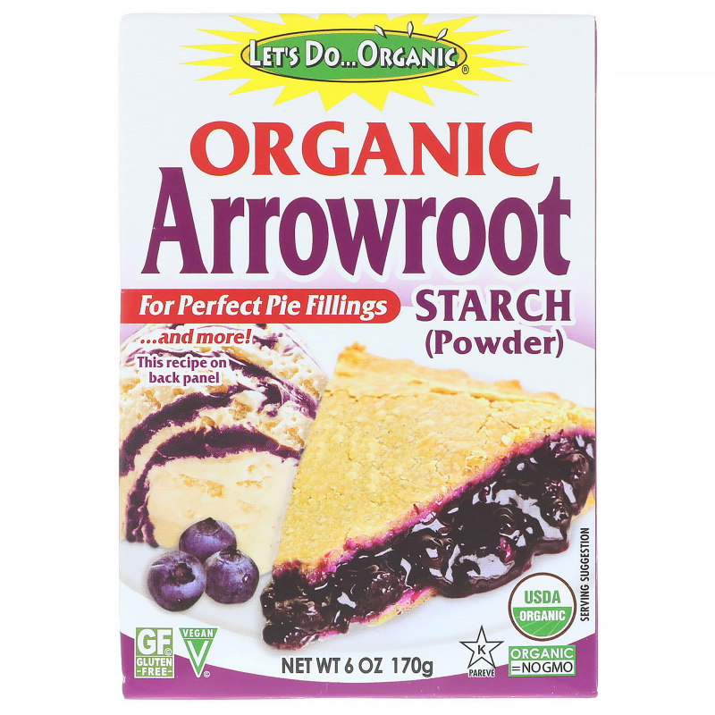 Edward & Sons, Let's Do Organic, Organic Arrowroot Starch, 6 oz (170 g)