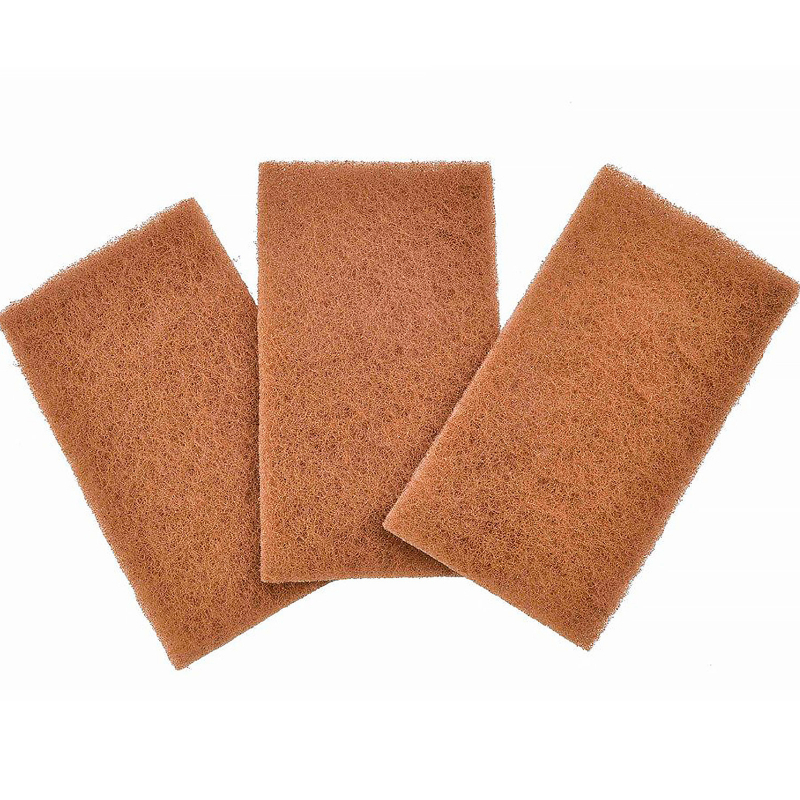Full Circle, Neat Nut, Walnut Shell Scour Pads, 3 Pack