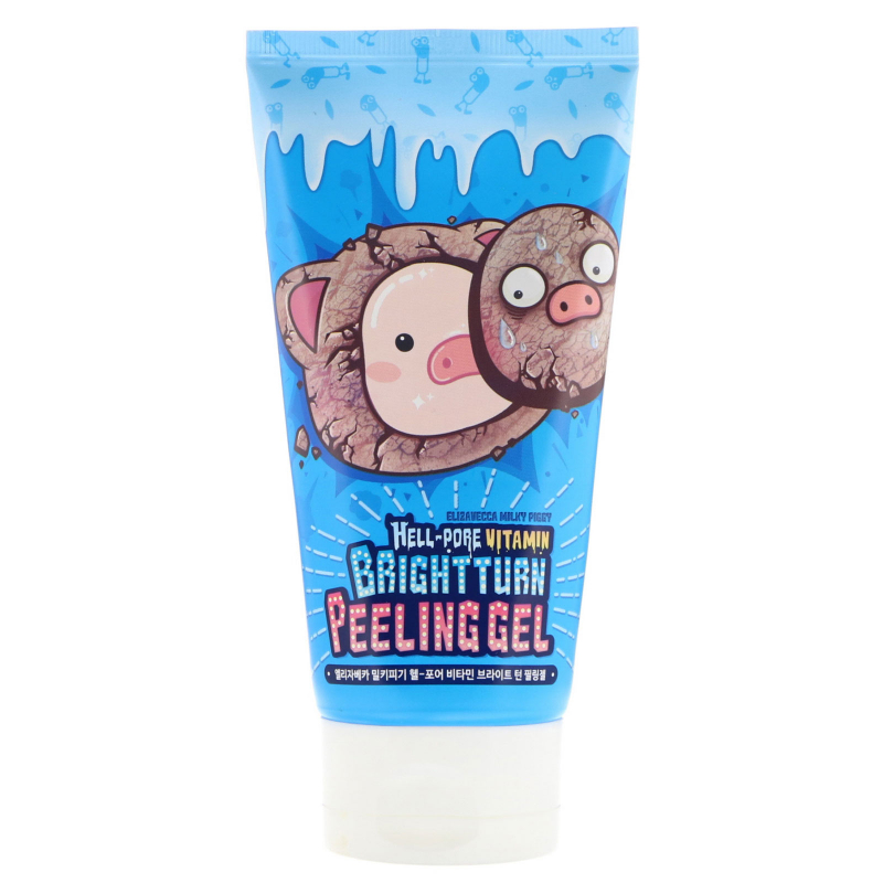 Elizavecca, Hell-Pore Vitamin Brightturn Peeling Gel, 5.07 fl oz (150 ml)