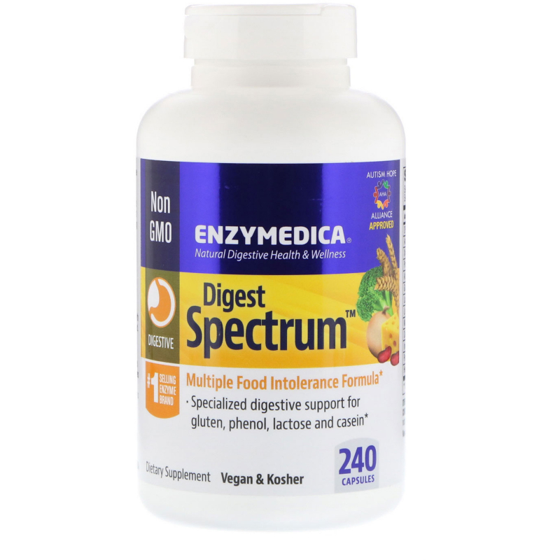 Enzymedica, Digest Spectrum, 240 Capsules