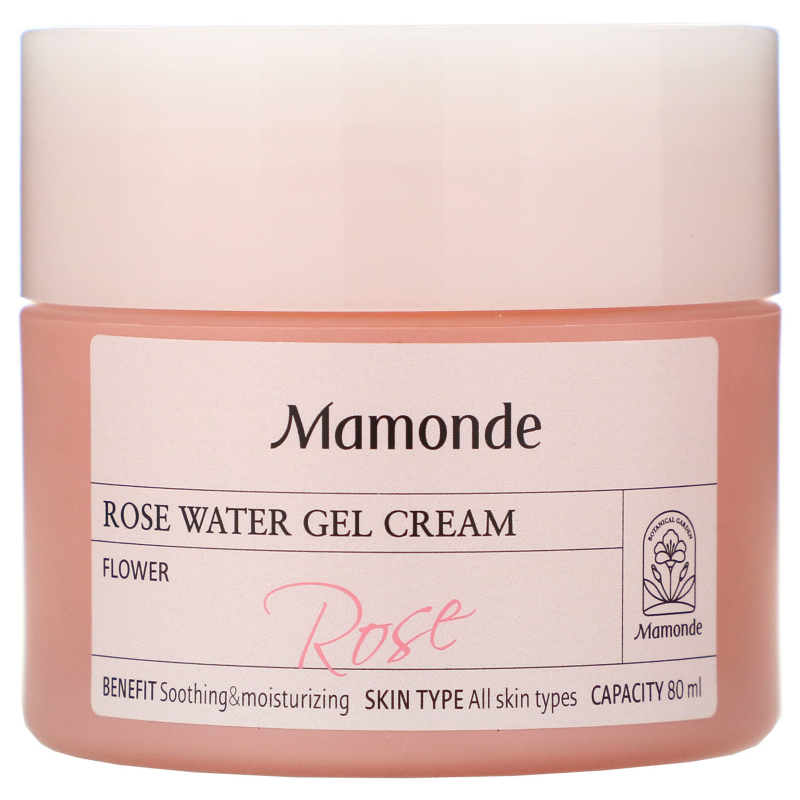 Mamonde, Rose Water Gel Cream, 80 ml
