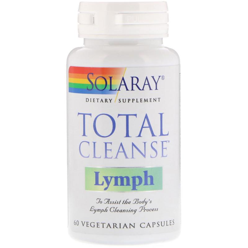 Solaray, Total Cleanse Lymph, 60 Vegetarian Capsules