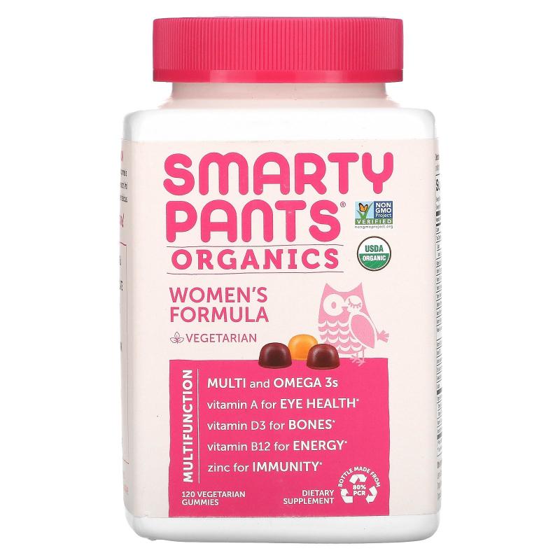 SmartyPants, Organics, Women's Complete, 120 Vegetarian Gummies