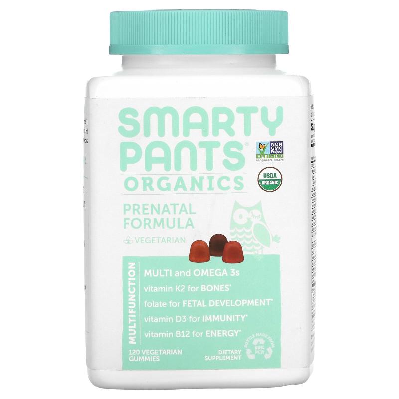 SmartyPants, Organics, Prenatal Complete, 120 Vegetarian Gummies
