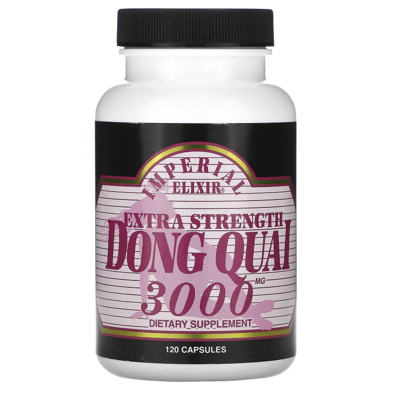 Imperial Elixir, Extra Strength, Dong Quai, 3000 mg, 120 Capsules
